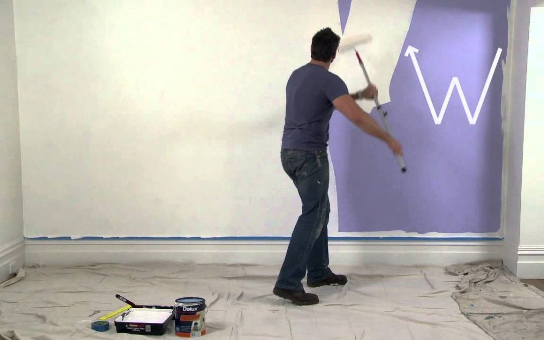 How To Paint Walls with Dulux Paint